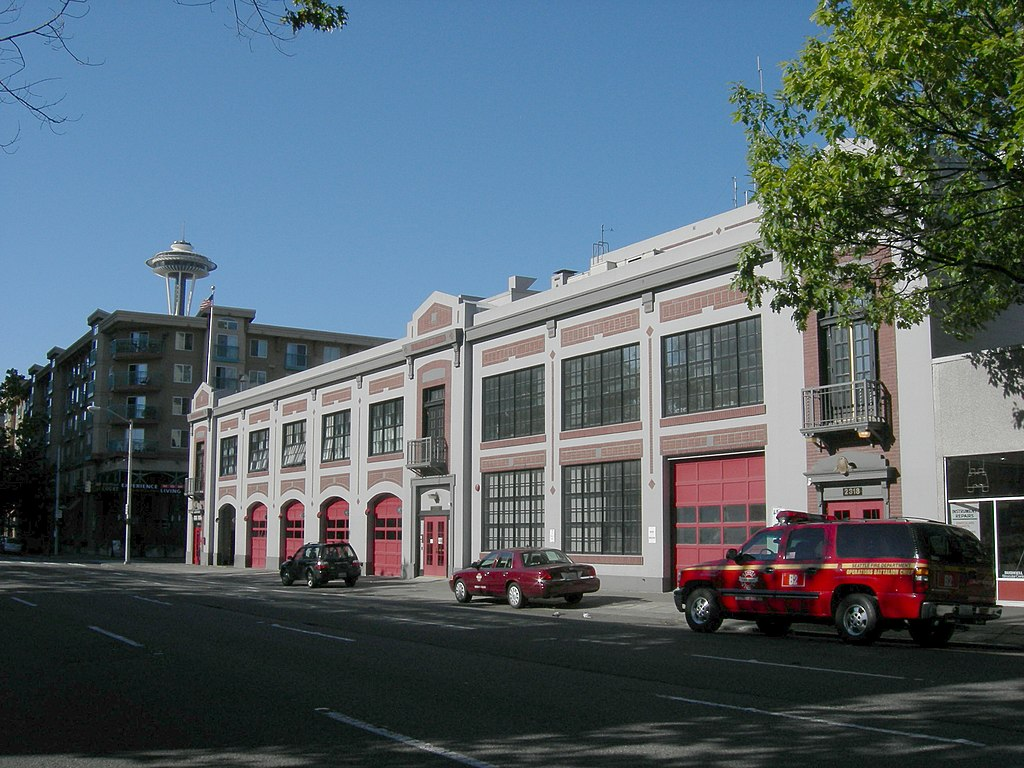 Seattle - Fire Station No. 2 - 01