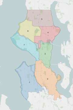 Seattle City Council District map.png