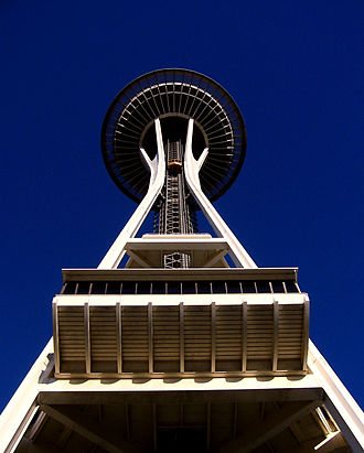 Space Needle - Image: Seattlecenterspacene edle