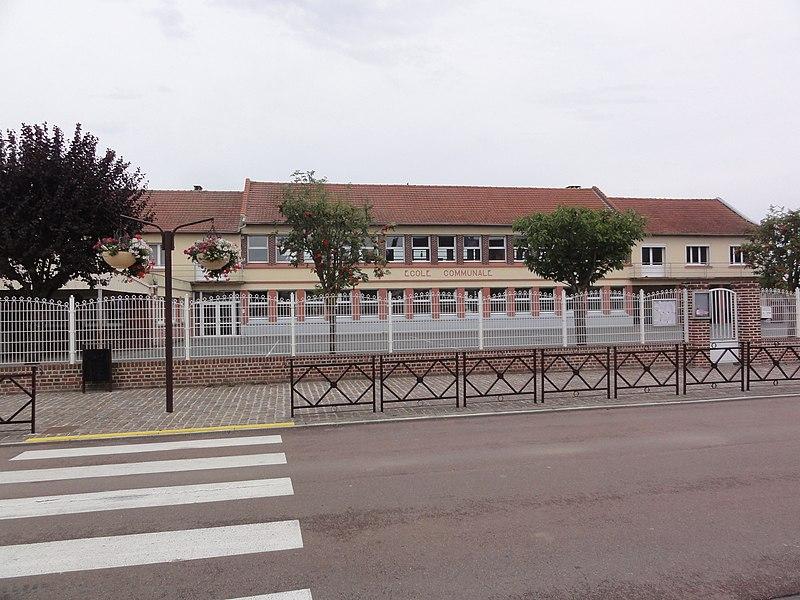 Seboncourt (Aisne) école