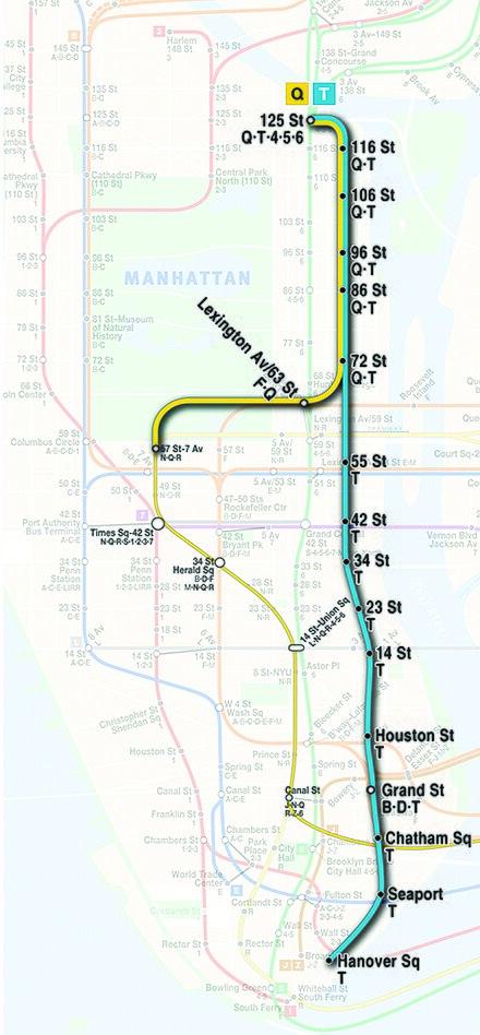 Subway Map Sheepshead Bay.Q New York City Subway Service Wikiwand