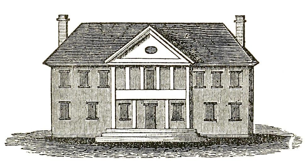 Second Capitol at Williamsburg Virginia