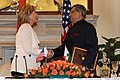 Secretary Clinton and Minister of External Affairs S.M. Krishna.jpg