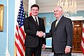 Secretary Tillerson Meets With Slovakian Foreign Minister Lajcak (33697961804).jpg
