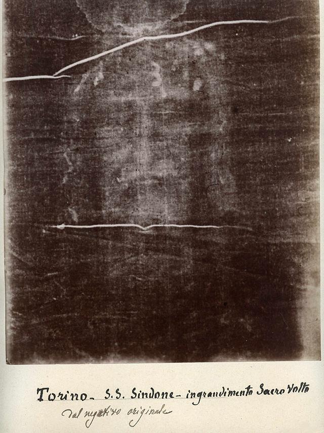 640px-Secundo_Pia_Turinske_platno_1898 - The Shroud of Turin (La Sindone di Torino) - Bible Study