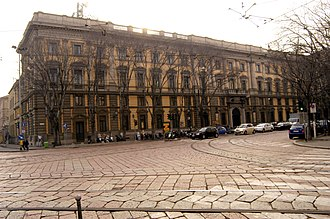 Edison (company) - Edison's headquarter in Foro Buonaparte 31, Milan