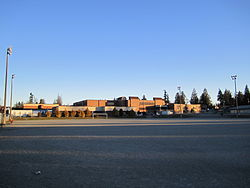 Semiahmoo Secondary in the early morning.JPG