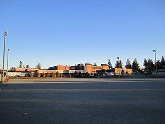 Semiahmoo Secondary School - Image: Semiahmoo Secondary in the early morning