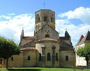 Semur-en-Brionnais - Saint-Hilaire Church