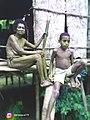 Seorang Nenek dan Anak Lakilaki di kampung Miere Teluk Wondama.jpg