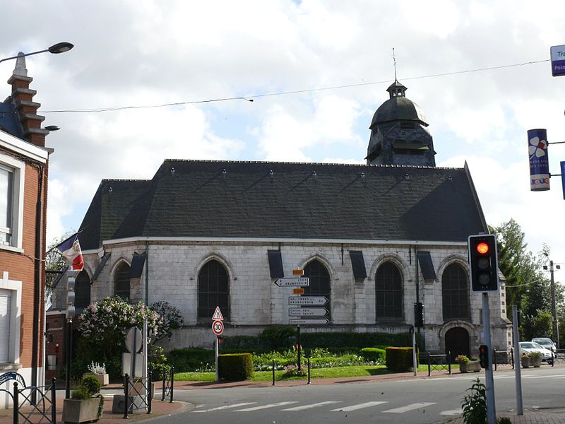 Saint-Laurent's church of Sequedin (Nord, France).