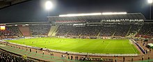 Serbia - Slovenija football match in Belgrade, 2010.jpg