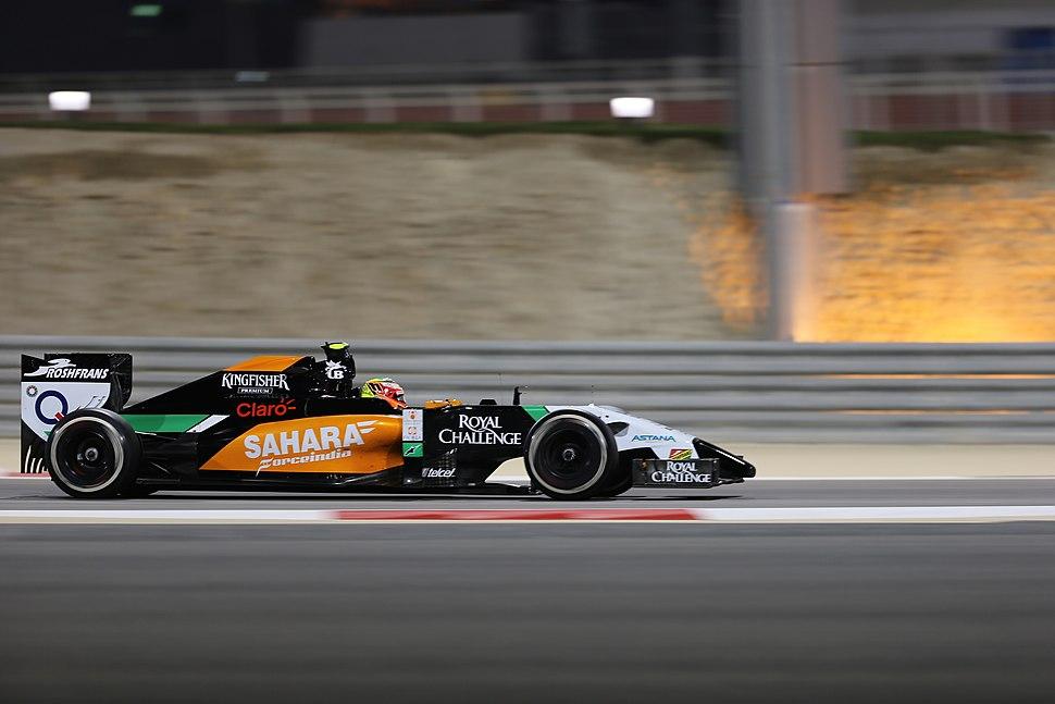 Sergio Pérez Bahrain 2014