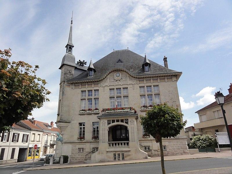 Sermaize-les-Bains (Marne) hôtel de ville