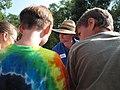 Service biologist Bryan Tompkins fielding students questions (5029108419).jpg