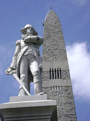 Seth Warner - The Seth Warner statue at the Bennington Battle Monument
