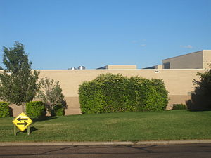 Seward County Community College - Main SCCC building, 2010.