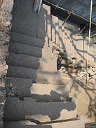 Sewri fort stairs