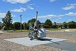 Seymour Vietnam Veterans Commemorative Walk Bofors 40 mm Gun 001.JPG