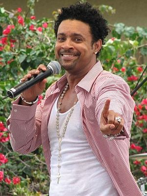 Shaggy defense - Shaggy seen performing a song in 2009