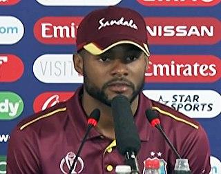 Shai Hope Barbadian cricketer
