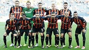 2017–18 FC Shakhtar Donetsk season - Image: Shakhtar Donetsk 2018