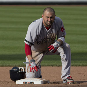 Shane Victorino - Victorino with the Boston Red Sox in 2013