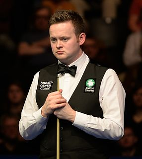 English professional snooker player, 2005 world champion, 2008 UK champion, 2015 Masters champion