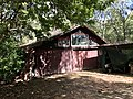 Shed with stained glass windows in Kenmore, Queensland 01.jpg