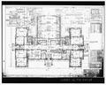 Sheet 5- PLAN OF FIRST FLOOR - Penn High School, Penn Avenue at Main Street, Greenville, Mercer County, PA HABS PA,43-GRENV,3-18.tif