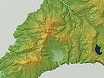 Shibetoro Volcano (Tsirk Volcano) Relief Map, SRTM-1.jpg