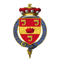 Shield of Arms of William Grenfell, 1st Baron Desborough, KG, GCVO.png