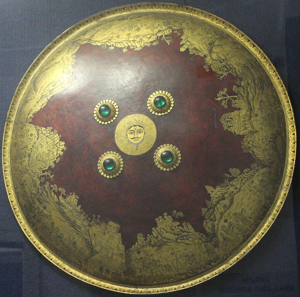 Shield of Maharana Sangram Singh II