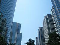 Shinagawa intercity and shinagawa grandcommons tokyo japan 2009.JPG