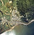 Shiranuka town center area Aerial photograph.1977.jpg