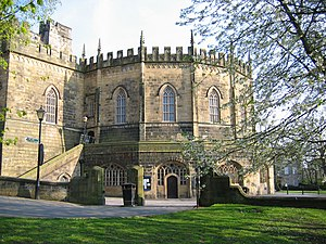 Lancaster Castle - The Shire Hall