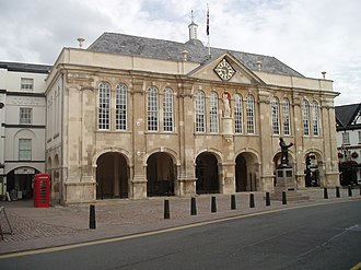 1724 in architecture - Shire Hall, Monmouth