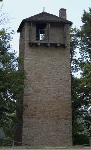 National Register of Historic Places listings in Virginia - Shot Tower, Max Meadows