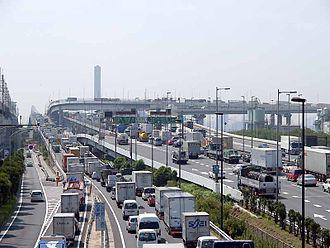 Edogawa, Tokyo - Kasai Junction, Shuto Expressway