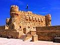 Side View of Citadel of Qaitbay in Alexandria منظر جانبى لقلعة قايتباى بالإسكندرية.jpg
