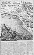 Siege de la Rochelle par louis XIII et Richelieu du 10 aout 1627 au 28 octobre 1628 planche 3 Jacques Callot 1592 1635