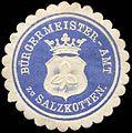 Siegelmarke Bürgermeister-Amt zu Salzkotten W0259860.jpg