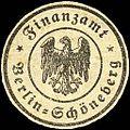 Siegelmarke Finanzamt - Berlin - Schöneberg W0221985.jpg