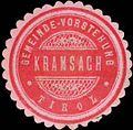 Siegelmarke Gemeinde-Vorstehung Kramsach-Tirol W0342583.jpg