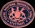 Siegelmarke Königlich Württembergische Thierarznei Schule - Stuttgart W0225260.jpg