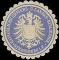Siegelmarke K. Univers. und Landes-Bibliothek Strassburg W0350479.jpg