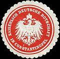 Siegelmarke Kaiserlich Deutsche Botschaft in Constantinopel W0223712.jpg