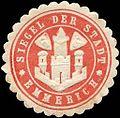 Siegelmarke Siegel der Stadt - Emmerich W0226462.jpg