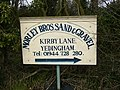 Sign at end of Kirby Lane - geograph.org.uk - 372968.jpg