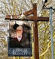 Sign of the Joshua Bradley - geograph.org.uk - 1715698.jpg
